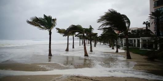 Meksyk - Huragan Carlos przyniósł obfite opady deszczu 6