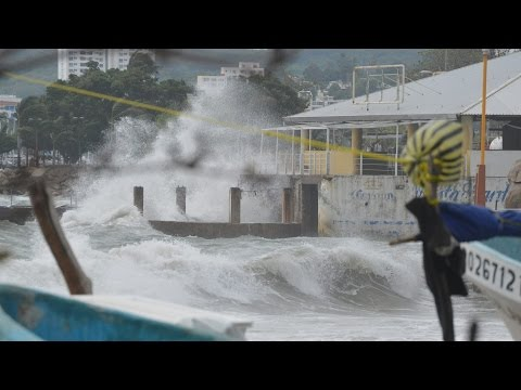 Meksyk - Huragan Carlos przyniósł obfite opady deszczu 7