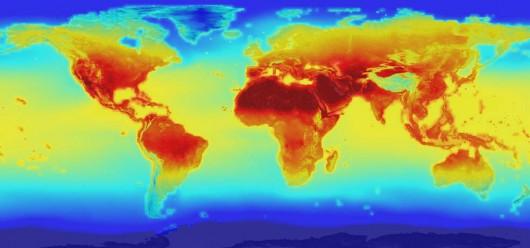 NASA opublikowała szczegółowe projekty globalnych zmian klimatu