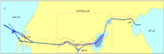 Nowy kanał powstał równolegle do środkowej części istniejącej przeprawy