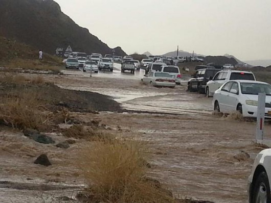 Oman - Burza tropikalna wywołała powodzie 3