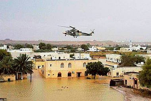 Oman - Burza tropikalna wywołała powodzie 4