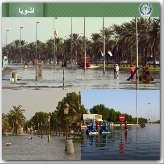 Oman - Burza tropikalna wywołała powodzie 5