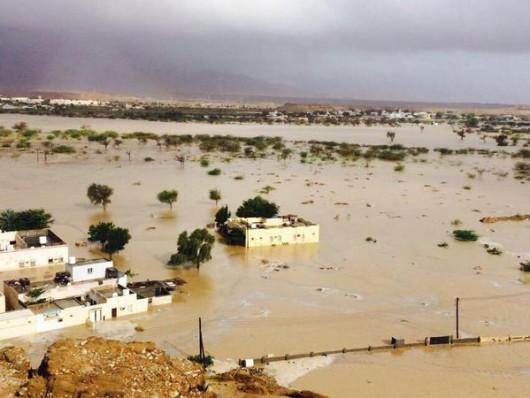 Oman - Burza tropikalna wywołała powodzie 8