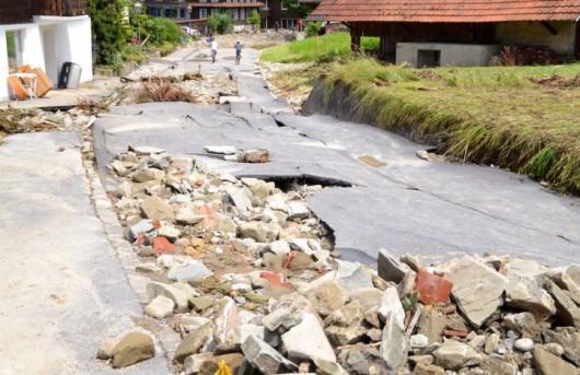 Powódź - Szwajcaria 3