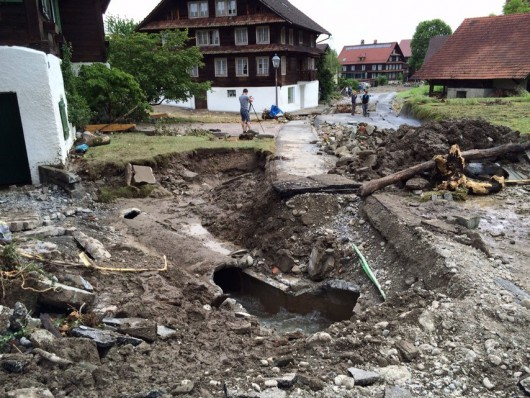 Powódź - Szwajcaria 4