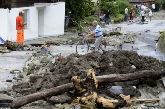 Powódź - Szwajcaria 5