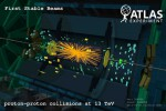 Produkty zderzenia wiązek protonów zarejestrowane przez detektory eksperymentu ATLAS /ATLAS /