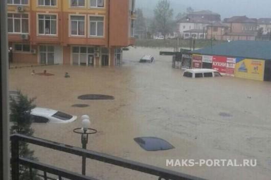 Soczi, Rosja - Ulewne deszcze i powódź 3