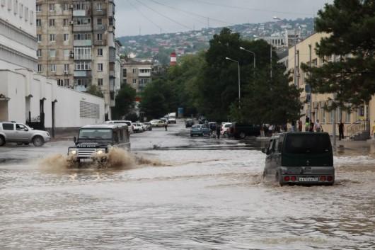 Soczi, Rosja - Ulewne deszcze i powódź 4