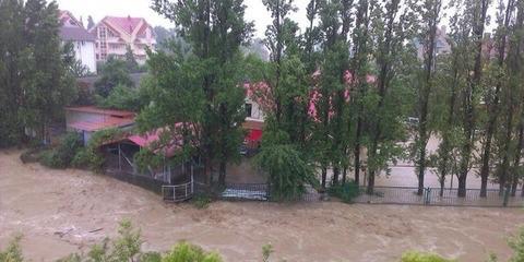 Soczi, Rosja - Ulewne deszcze i powódź 5