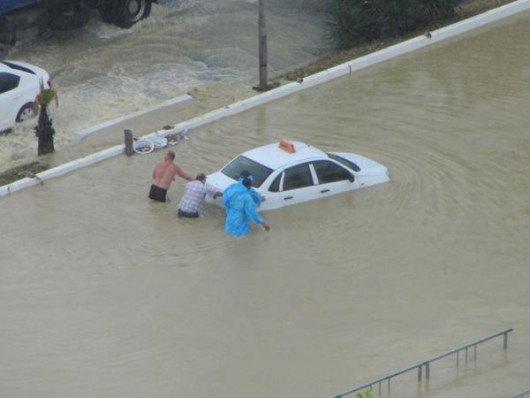 Soczi, Rosja - Ulewne deszcze i powódź 7