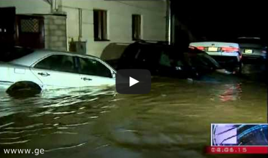 Tbilisi, Gruzja - Ogromna powódź w bardzo krótkim czasie 13