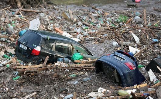 Tbilisi, Gruzja - Ogromna powódź w bardzo krótkim czasie 29