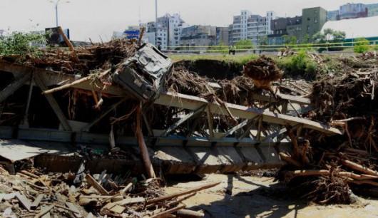 Tbilisi, Gruzja - Ogromna powódź w bardzo krótkim czasie 30