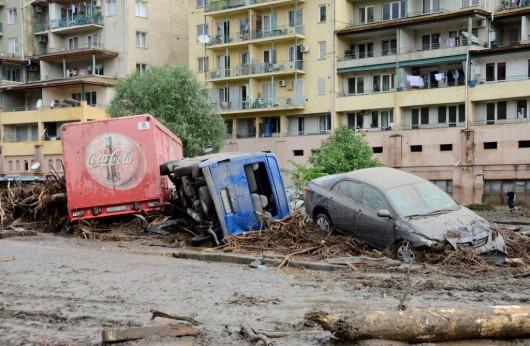 Tbilisi, Gruzja - Ogromna powódź w bardzo krótkim czasie 7