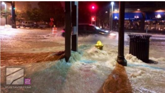 Tbilisi, Gruzja - Ogromna powódź w bardzo krótkim czasie 8