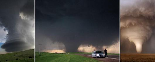 USA - Burze i kilkanaście tornad przetoczyło się przez kraj