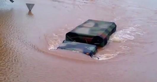 USA - Na północnym-wschodzie ulewne deszcze i powodzie 3