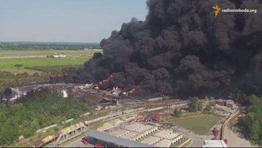Wasylków, Ukraina – Kolejny wybuch w bazie naftowej 1