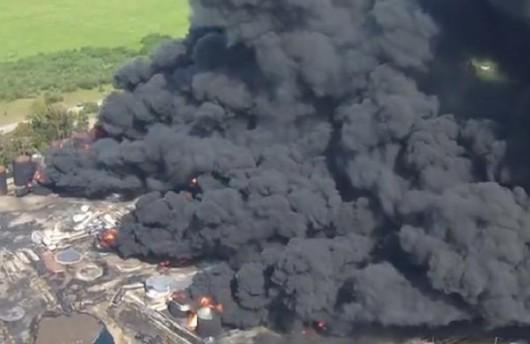 Wasylków, Ukraina – Kolejny wybuch w bazie naftowej 3