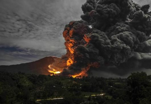 Wulkan Sinabung 5