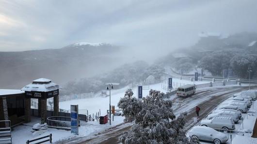 Śnieg sypie w Australii -11