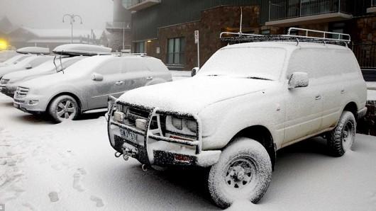 Śnieg sypie w Australii -2