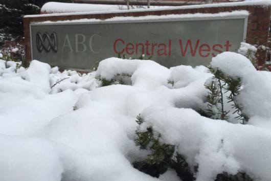 Śnieg sypie w Australii -3