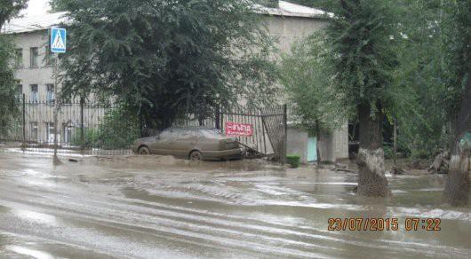Ałmaty, Kazachstan - Upały podtopiły lodowiec, duża ilość wody spowodowała ogromne osuwisko ziemi -13