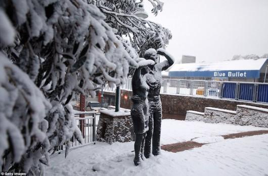 Australia - Największe od 50 lat opady śniegu -5
