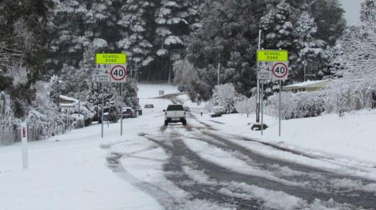 Australia - Największe od 50 lat opady śniegu -9