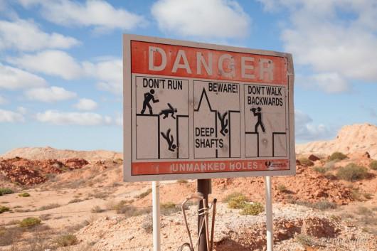 Australia - Podziemne miasto Coober Pedy 7