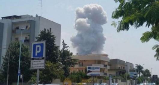 Bari, Włochy - Co najmniej 8 ofiar wybuchu w fabryce fajerwerków 2