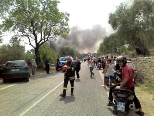 Bari, Włochy - Co najmniej 8 ofiar wybuchu w fabryce fajerwerków 4