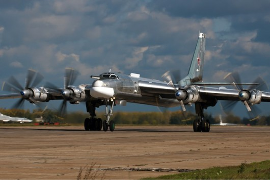 Bombowiec strategiczny dalekiego zasięgu - Tu-95