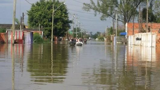 Brazylia - Pod wodą znalazło się 61 miejscowości na południu kraju -1