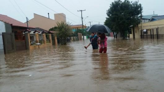 Brazylia - Pod wodą znalazło się 61 miejscowości na południu kraju -6