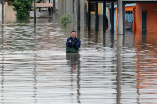 Brazylia - Pod wodą znalazło się 61 miejscowości na południu kraju -8