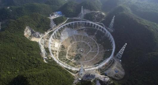 Chiny - Powstanie największy na świecie radioteleskop do poszukiwania sygnałów pochodzących spoza Układu Słonecznego