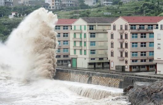 Chiny - Tajfun Chan-hom 2