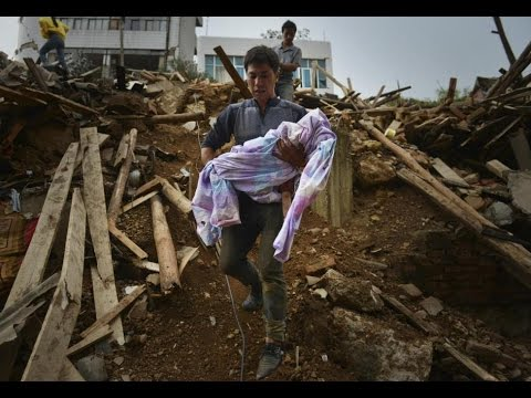 Chiny - Trzęsienie ziemi o magnitudzie 6.5 w prowincji Xinjiang 2