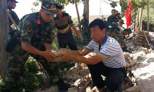 Chiny - Trzęsienie ziemi o magnitudzie 6.5 w prowincji Xinjiang 3