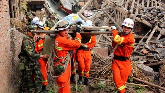 Chiny - Trzęsienie ziemi o magnitudzie 6.5 w prowincji Xinjiang 4