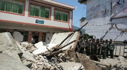 Chiny - Trzęsienie ziemi o magnitudzie 6.5 w prowincji Xinjiang 5