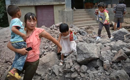 Chiny - Trzęsienie ziemi o magnitudzie 6.5 w prowincji Xinjiang 7