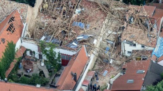 Framersheim, Niemcy - Trąba powietrzna uszkodziła około sto budynków 5