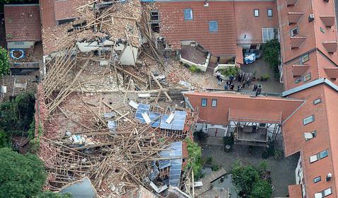 Framersheim, Niemcy - Trąba powietrzna uszkodziła około sto budynków 7