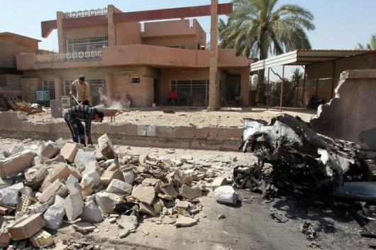 Irak - 115 ofiar i 170 rannych w zamachu z użyciem samochodu pułapki -2