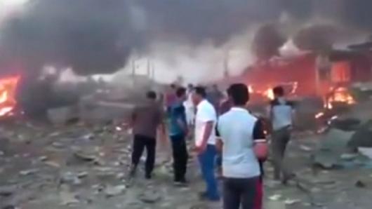 Irak - 115 ofiar i 170 rannych w zamachu z użyciem samochodu pułapki -3